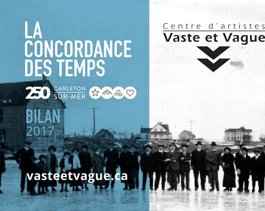 Vaste et Vague CONCORDANCE DES TEMPS BILAN 2017