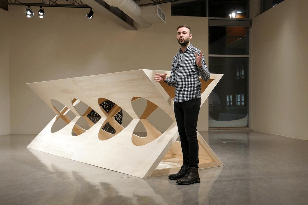 Jeffrey POIRIER | Vernissage de l'exposition « X » | Centre d'artistes Vaste et Vague
