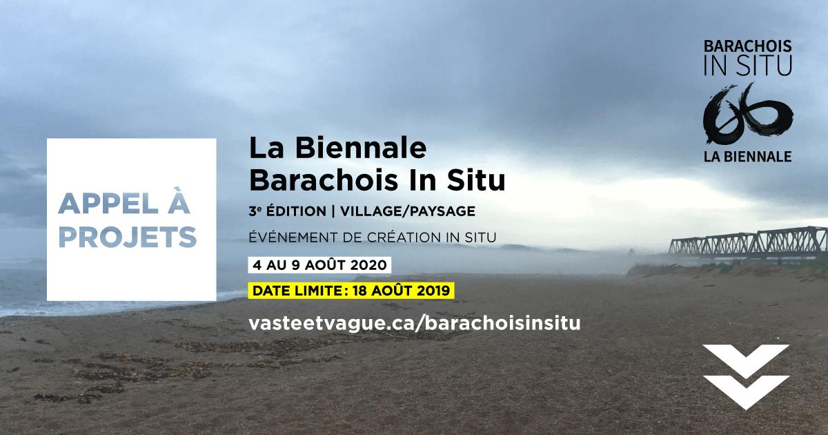 APPEL À PROJETS La Biennale Barachois In Situ 2020