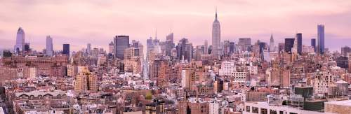 Medium Of New York Landscape