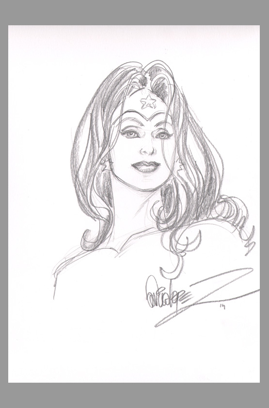 jose-luis-garcia-lopez-original-wonder-woman-art-sketch-signed - profile sheet template