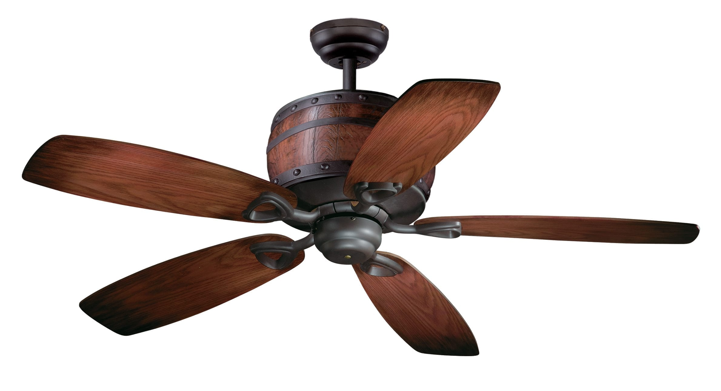 Rustic Style Ceiling Fans Cabernet 52 Quot Ceiling Fan Oil Burnished Bronze Vaxcel