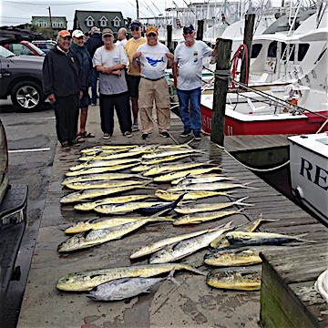 Hatteras virginia beach fishing charter boats and for Virginia saltwater fishing report