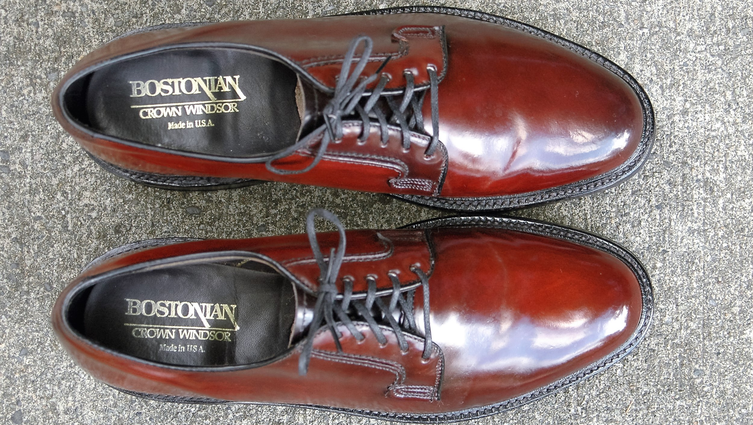 Bostonian Crown Windsor Shell Cordovan 23319 Vcleat