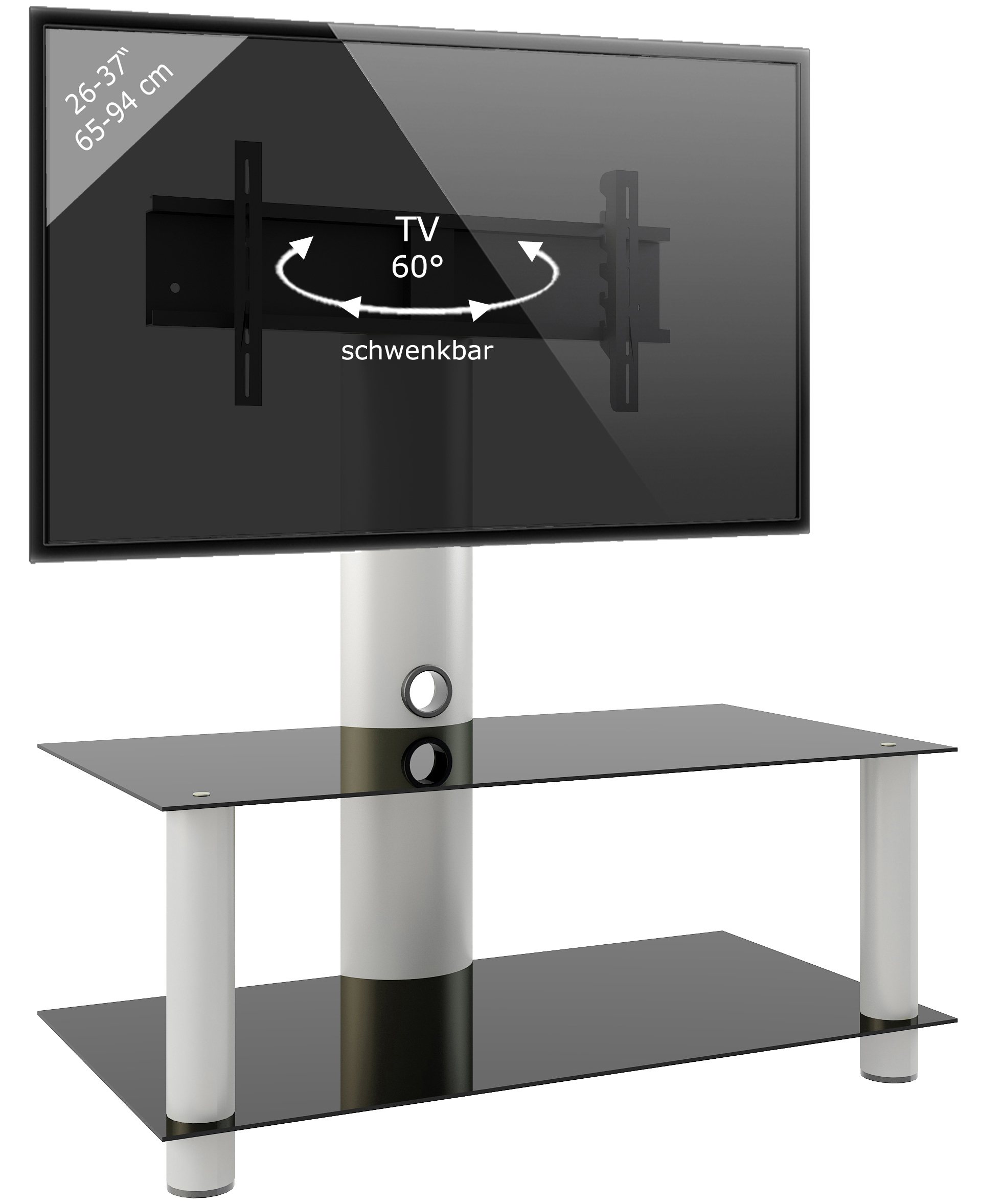 Led Glastisch Vcm Group Vcm Tv Rack Lowboard Konsole Fernsehtisch Tv