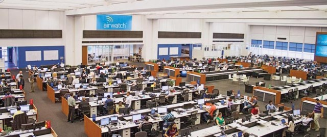 "AirWatch ""Trade Floor"" in Atlanta HQ"