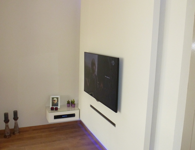 Led Verlichting Wand Tv-wand | Voordemakers.nl