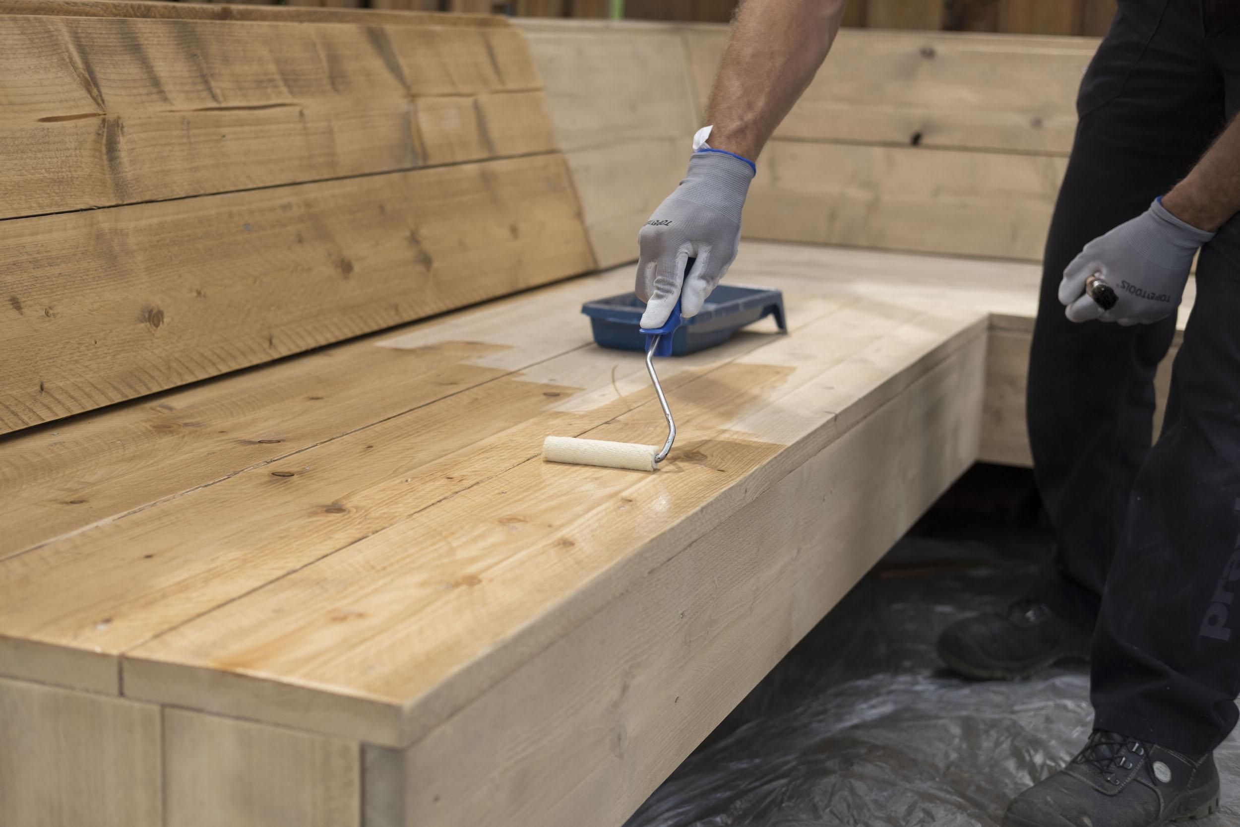 Eiken meubel verven meubelrenovatie reliving meubels eindhoven