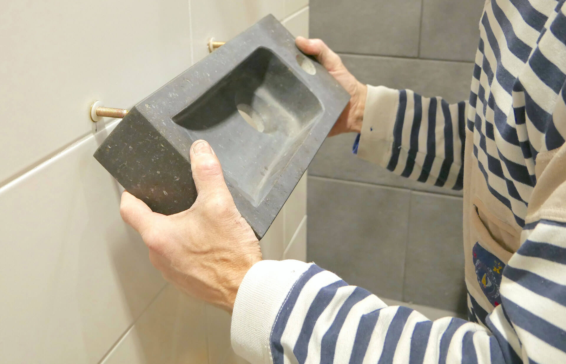 Wc fontein praxis nice zwarte wasbak toilet afbeelding van