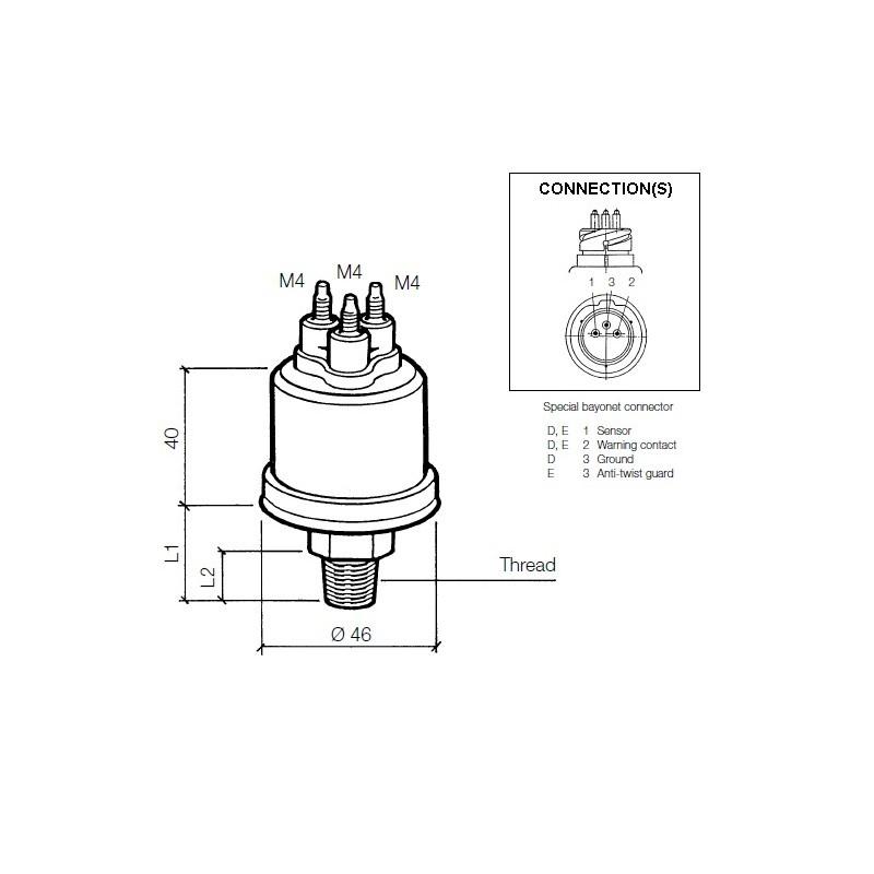 Vdo Oil Pressure Wiring Diagrams - Wwwcaseistore \u2022