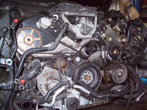 Vdubfixer - VW Audi timing belt  water pump replacement