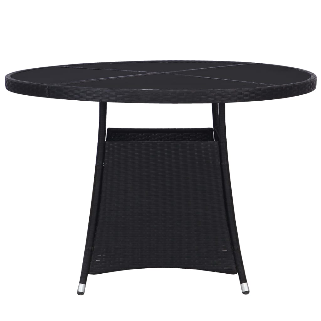 Table Exterieur Noir