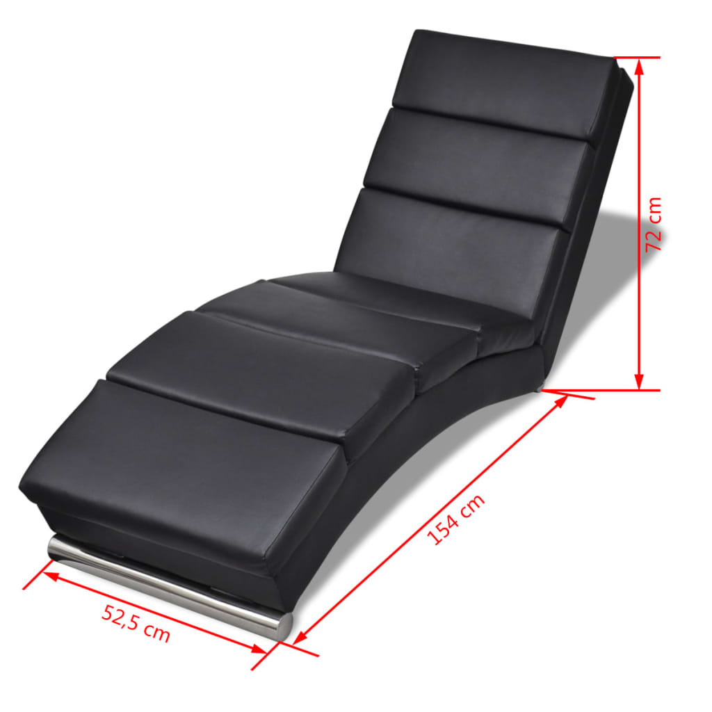 Relaxliege Wohnzimmer Poltrona Relax Chaise Longue Sedia A Sdraio In Similpelle