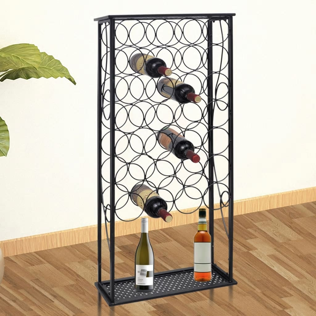 Metal Wine Storage Racks Details About Wine Rack Bottle Holder Furniture Metal Finish Wine Storage Rack Storage Shelf