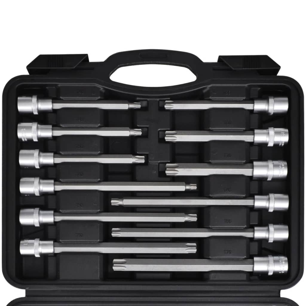 Torx Action Torx Bit Set Case Socket Set Tool Box Tool Kit 32 Pcs