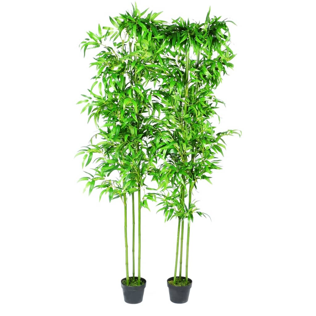 Home Decor Plants Bamboo Artificial Plants Home Decor Set Of 6 240017x