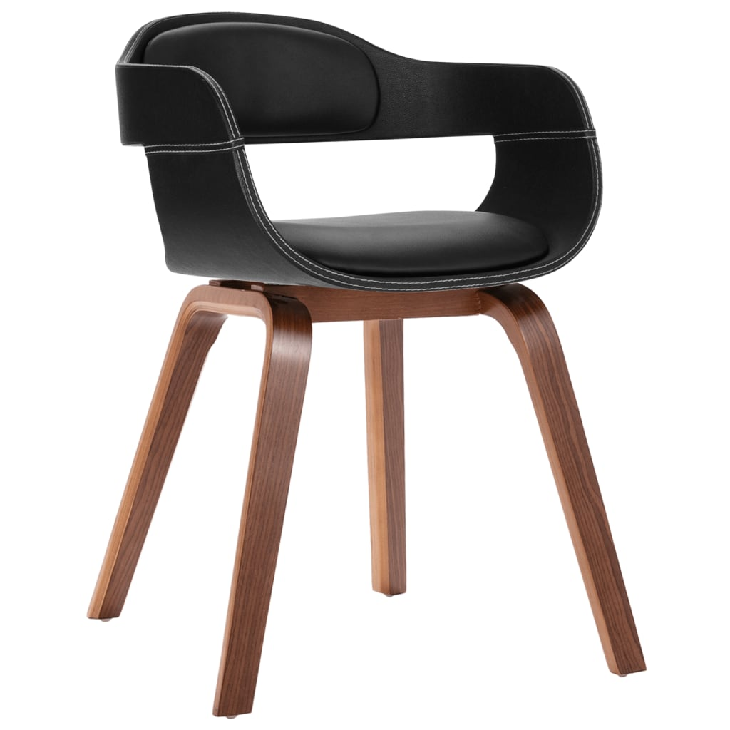 Bentwood Chairs Melbourne Bentwood Dining Chair With Artificial Leather Upholstery