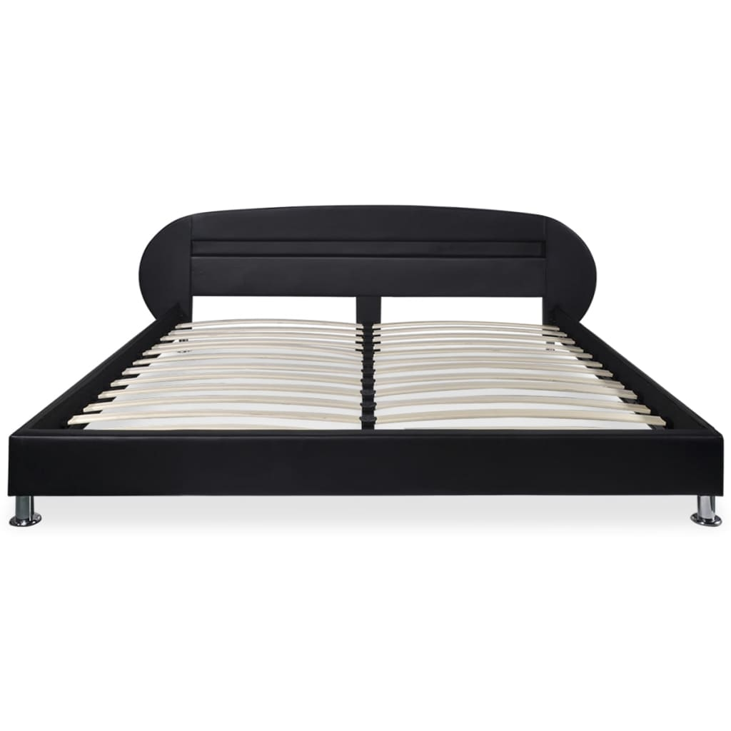 150 X 200 Bed Vidaxl Bed Frame Led 5ft King Size 150x200 Cm Artificial
