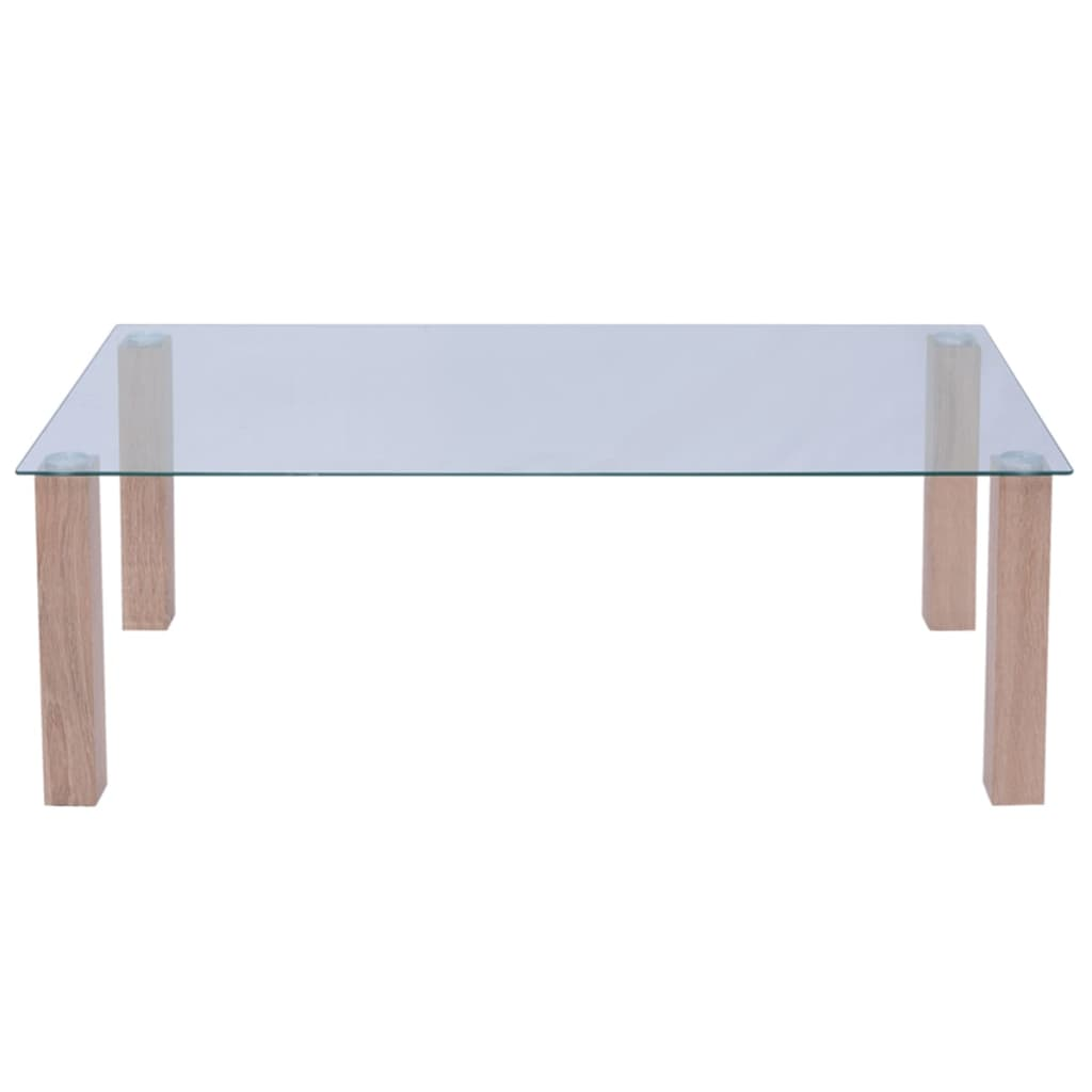 Table Basse Console Vidaxl Table Basse Pour Salon Table Auxiliaire Table Console Verre 120x60x43 Cm