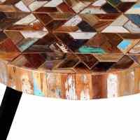 vidaXL Three Piece Coffee Table Set Solid Reclaimed Wood ...