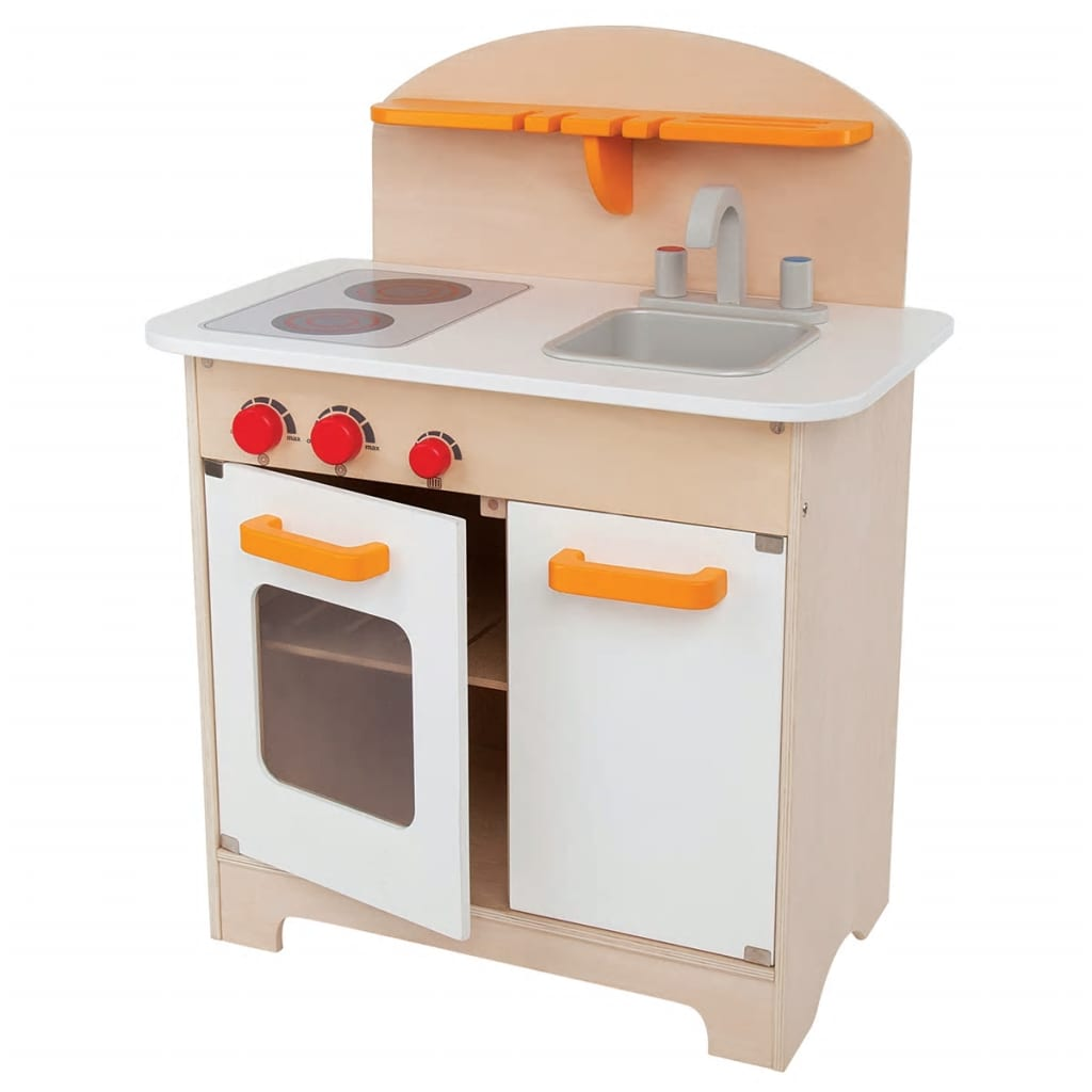 Hape E3100 - Gourmet Küche Weiß Hape Gourmet Kitchen White E3100 Vidaxl Co Uk