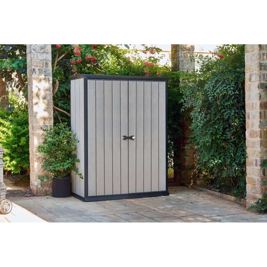 Keter High Store Keter Storage Solution Shed Cover Outdoor Garden Waterproof High Store 226437