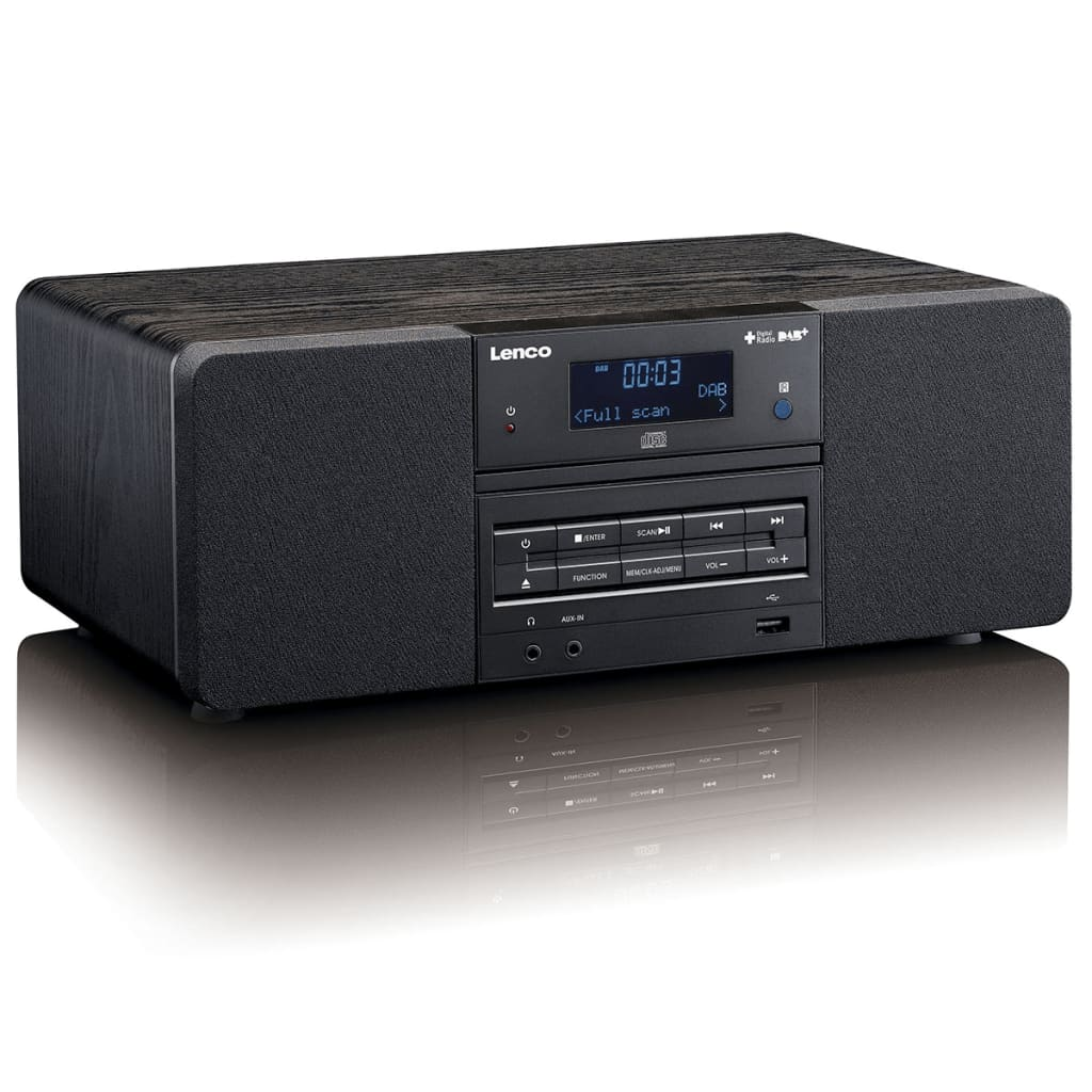 Radio-cd-player Für Badezimmer Lenco Dab 43 Fm Radio Mit Cd Mp3 Player Fernbedienung