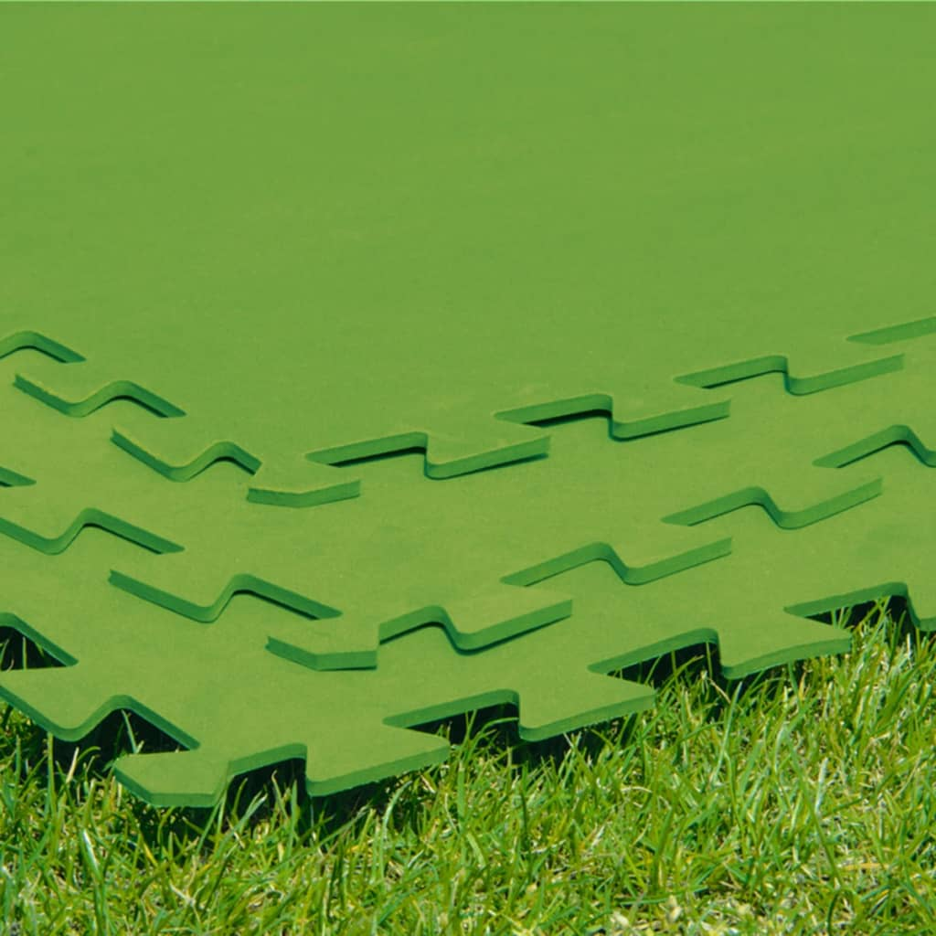 Bestway Pools The Range Bestway Pool Floor Protectors 8 Pcs 81x81 Cm Green 58265