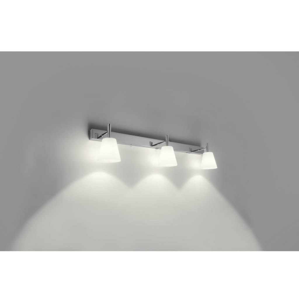 Philips Wandlamp Philips Mybathroom Wandlamp Hydrate 3x28w Chroom En Wit