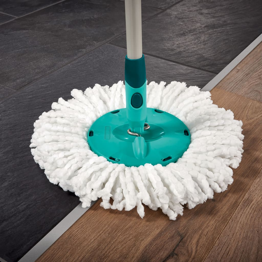 Leifheit Clean Twist Mop Leifheit Disc Mop Set Clean Twist Green 52052 | Vidaxl.co.uk