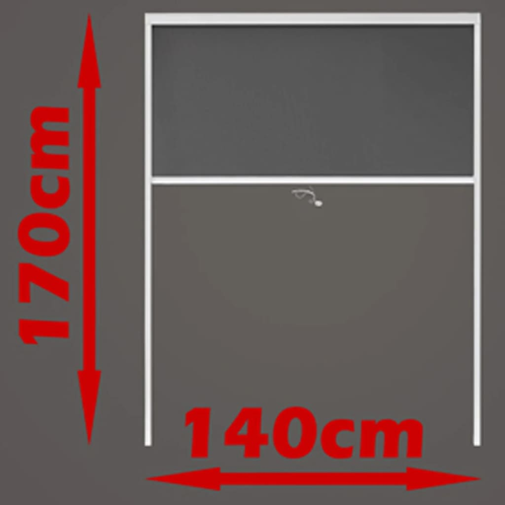 140 Cm Insect Screen 140 X 170 Cm Vidaxl Co Uk