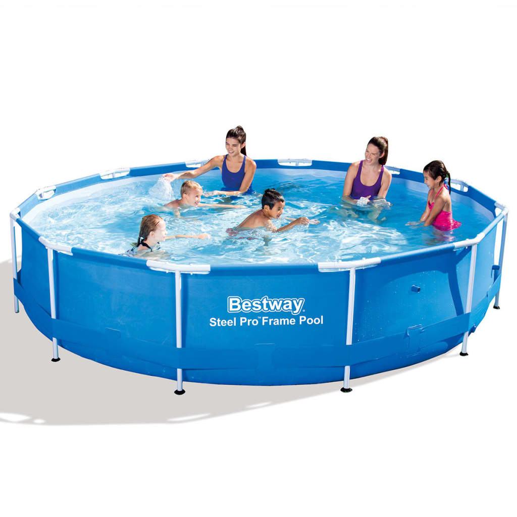Bestway Pools The Range Bestway Steel Pro Round Swimming Pool 366 X 76 Cm Steel