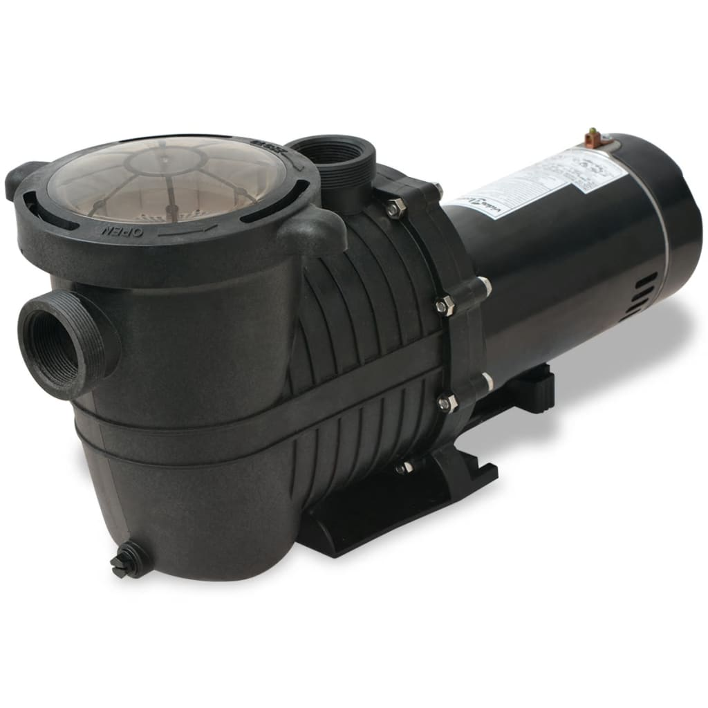 Wärmepumpe Pool Power Pp 15 Vidaxl Pool Pump 1 5 Hp 5280 Gph Vidaxl