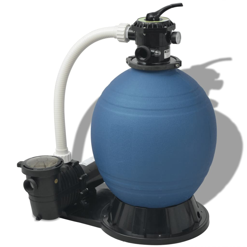 Wärmepumpe Pool Power Pp 15 Vidaxl Sand Filter With Pool Pump 22 Inch 1 5 Hp 5280 Gph