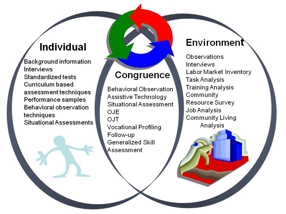 Levels of Assessment The Vocational Evaluation and Career