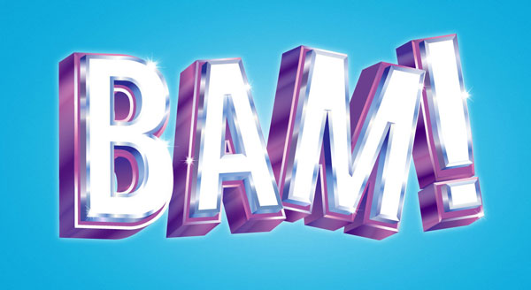 BAM! How to Make Your Own 3D Vector Text in Adobe Illustrator - Vectips - illustrator typography tutorials