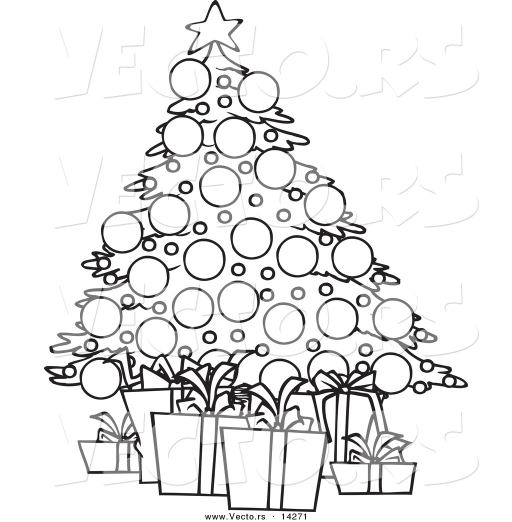 Colouring in online christmas - Ch Christmas Trees Coloring Pictures