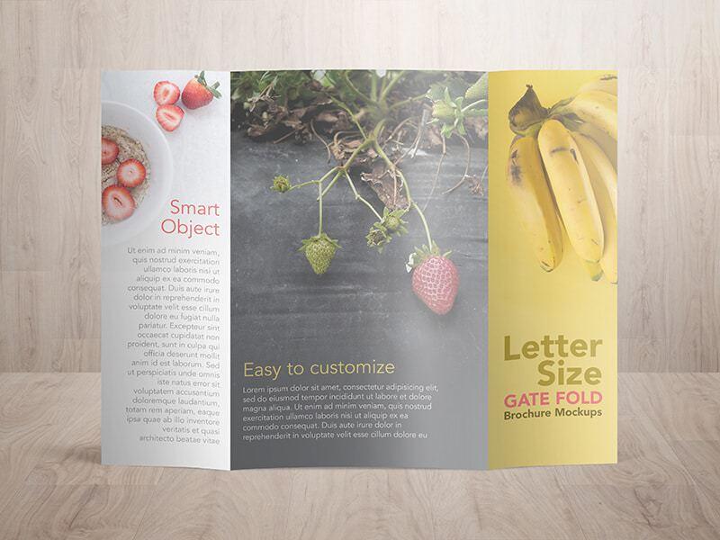 gate fold brochure mockup efficiencyexperts - gate fold brochure mockup