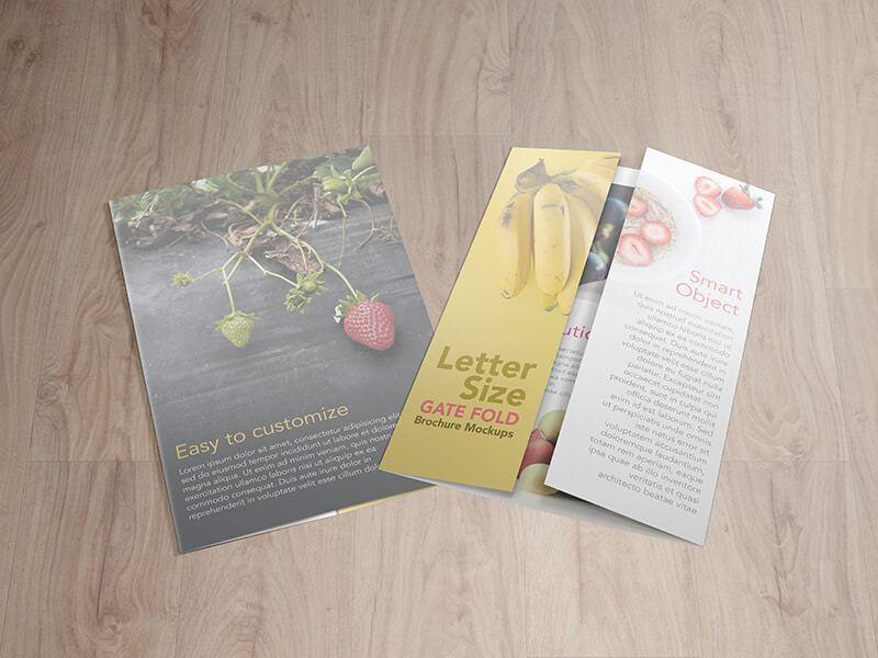 Gate Fold Brochure Mockup Show Your Brochure With Style! Create A - gate fold brochure mockup