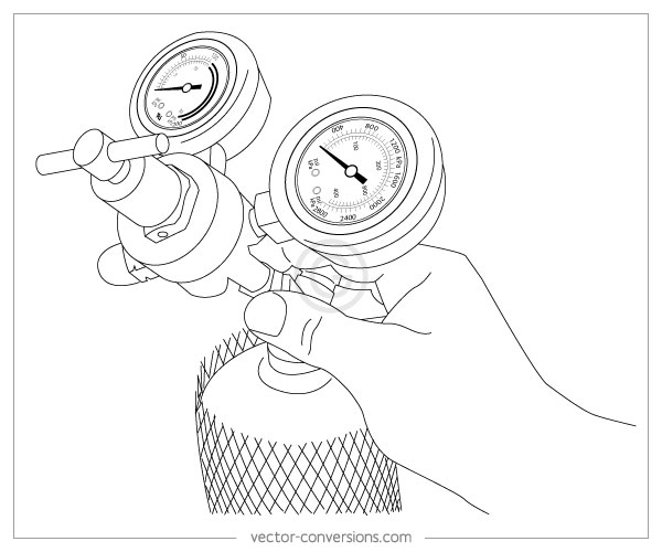 Vector Line Drawings for Manuals - instructional manual
