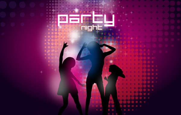 Free download of Online Party Flyer Maker vector graphics and
