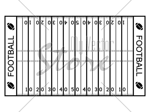 american football field diagram