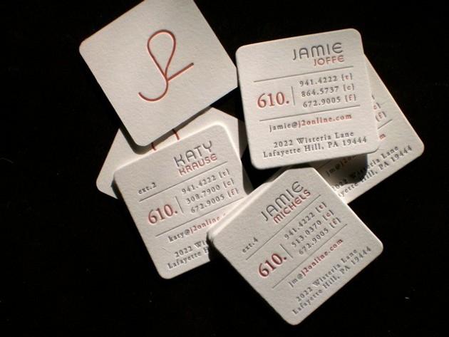 35+ Square Business Cards Unique Business Cards