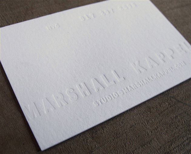 40+ Letterpress Business Cards Unique Business Cards