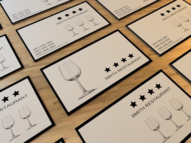 Restaurant Business Card Unique Business Cards