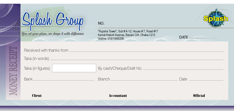money receipt format - Mersnproforum - Cash Recepit