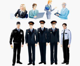 People Set Vector Illustration