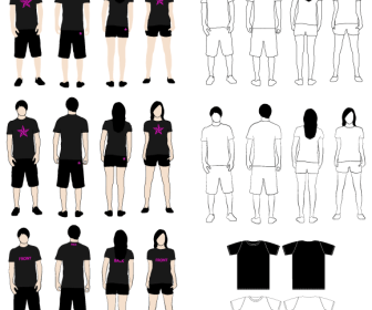 T-Shirt Models Pack
