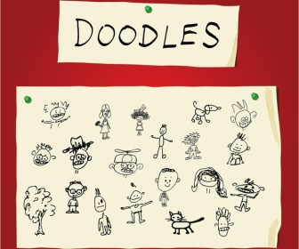Children Art Doodles