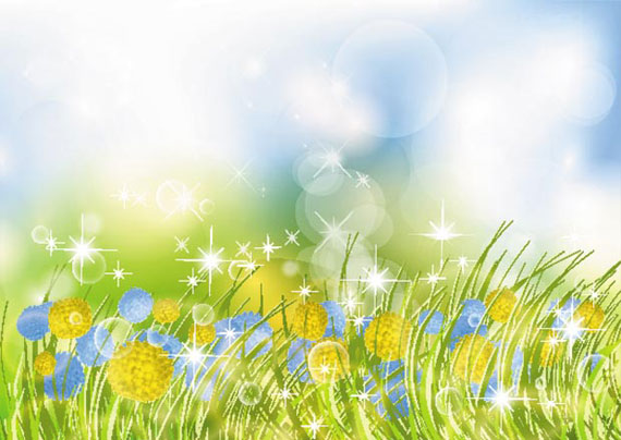 Animated Nature Wallpapers Free Download Beautiful Flower Garden Vector Background Ai Svg Eps